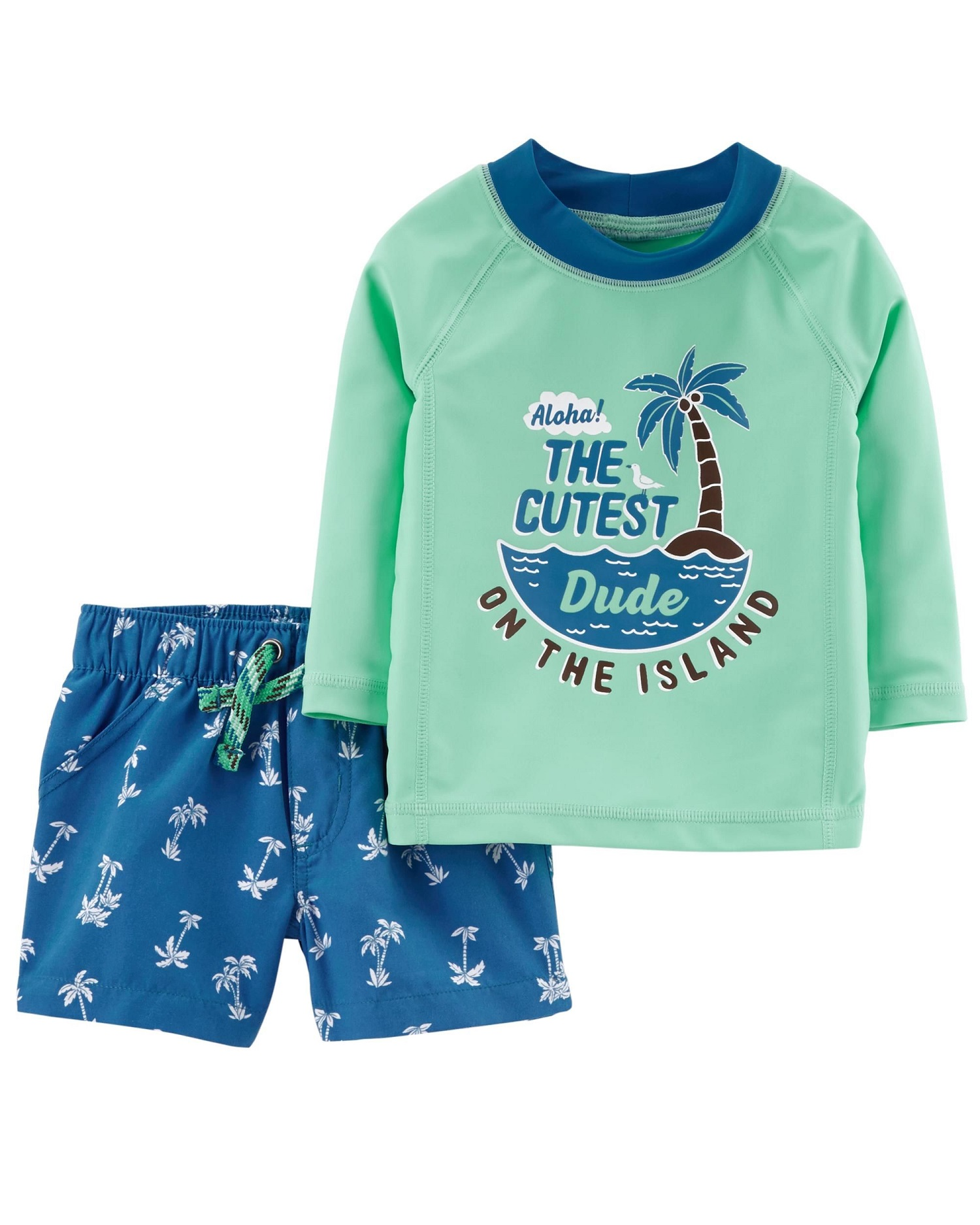 Carter's Baby Boys' 2-Piece Rashguard Set