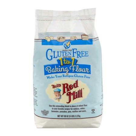 Bob's Red Mill Gluten Free 1 to 1 Baking Flour, 80.0 OZ
