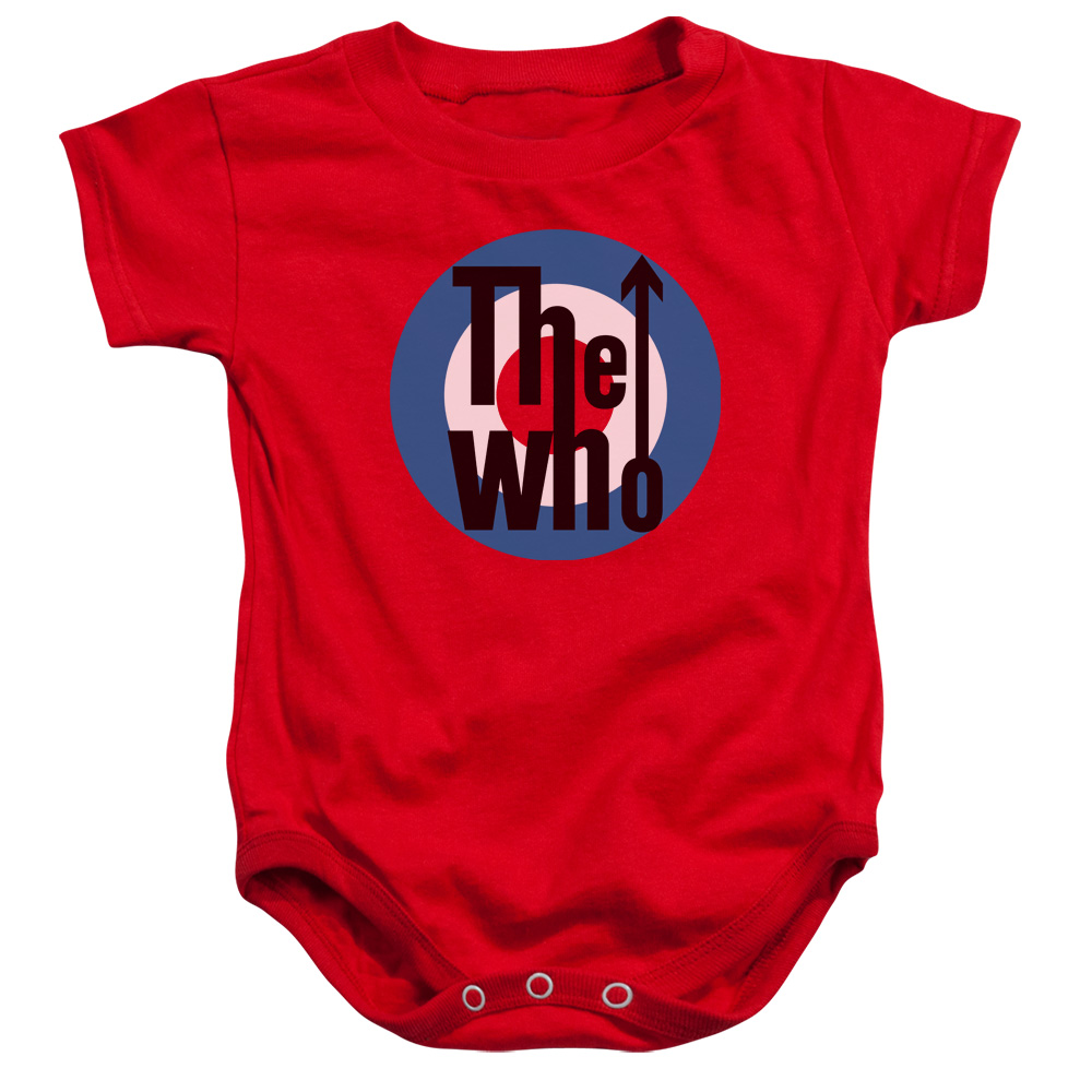 The Who Logo Unisex Baby Snapsuit
