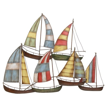 Metal sailing boat decor a perfect nautical decor for Al ahram aluminium decoration