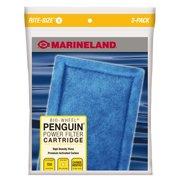 Marineland Penguin Bio-Wheel Power Filter Cartridges, Rite-Size B 3 count