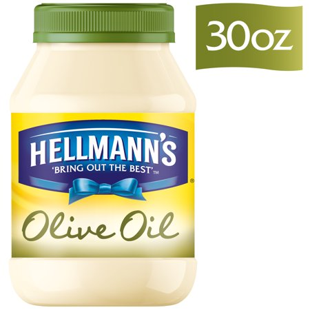 Hellmanns With Olive Oil Mayonnaise Dressing  30 Oz