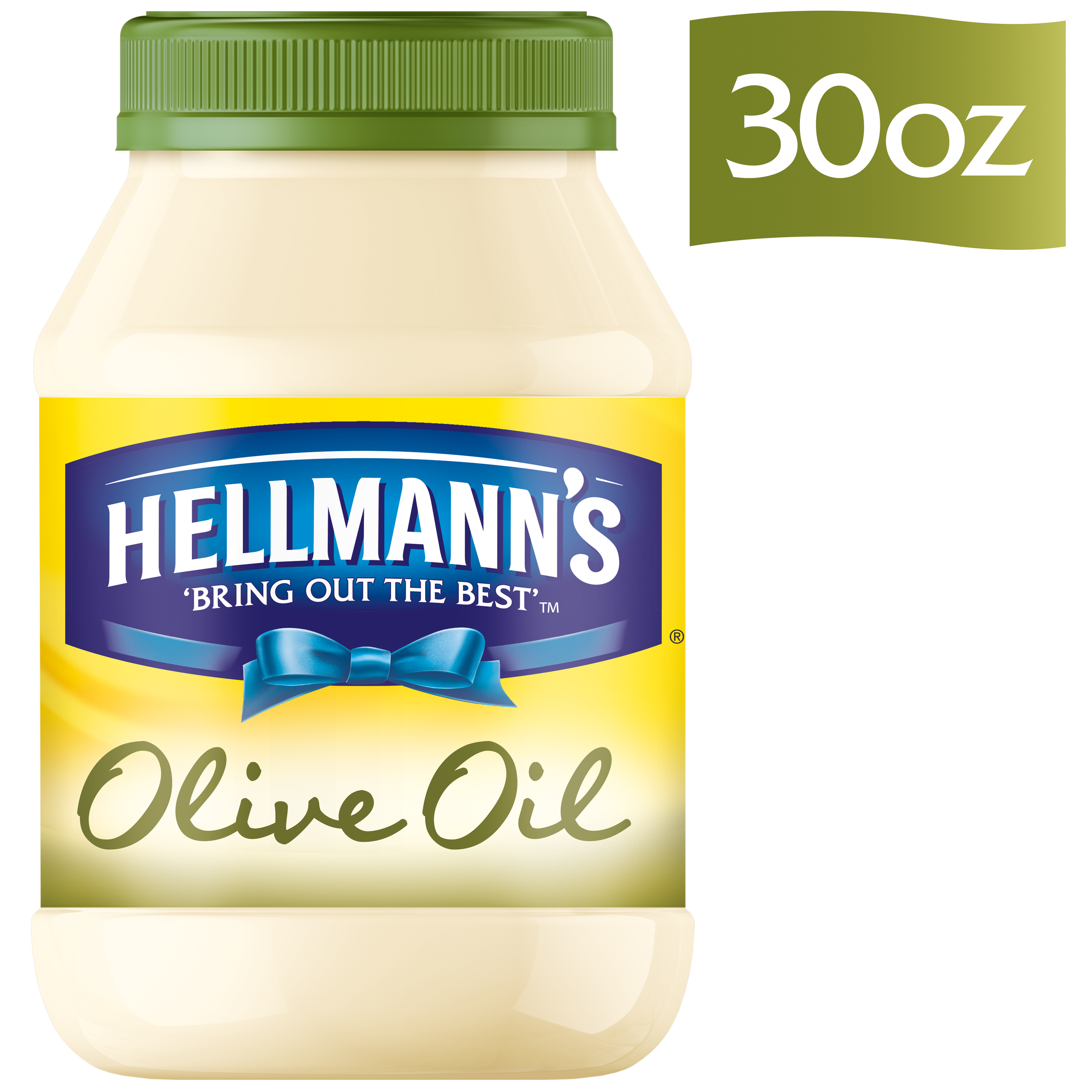 Hellmann's with Olive Oil Mayonnaise Dressing, 30 oz