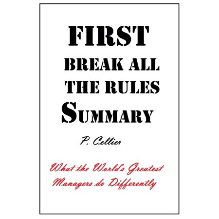 First Break All the Rules Summary - eBook