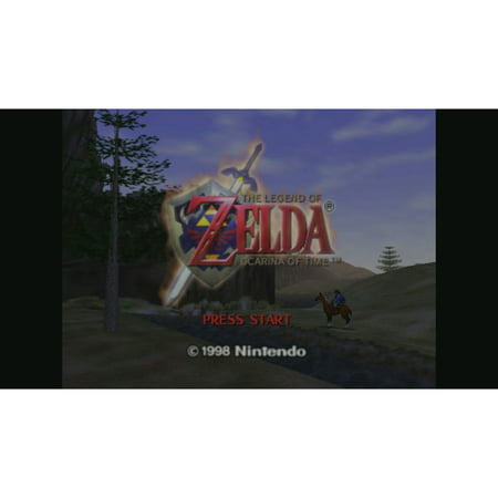The Legend of Zelda: Ocarina of Time, Nintendo, WIIU, [Digital Download], (Legend Of Zelda Ocarina Of Time 3ds Guide)