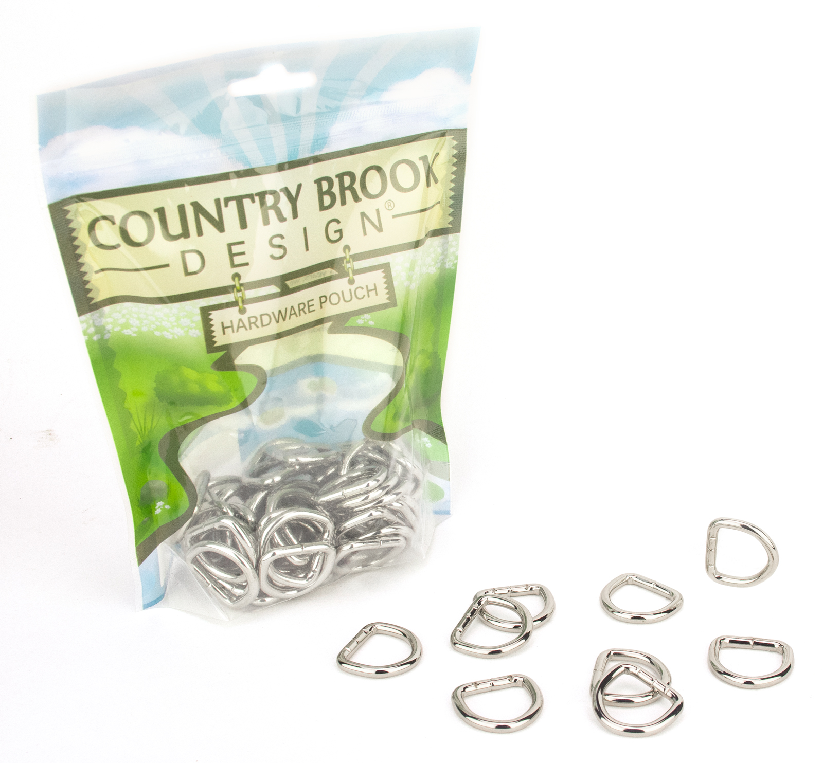 Country Brook Design® American Made 3/4 Inch Welded D-Rings