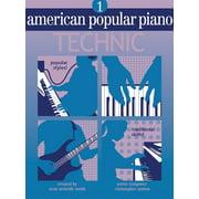 American Popular Piano: Technic, Level One