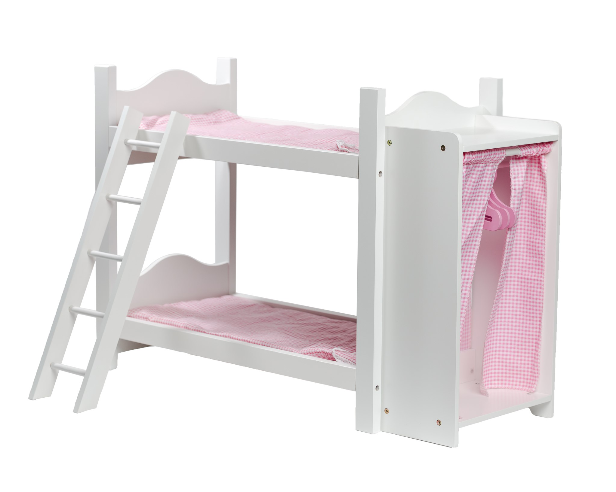 American Girl Doll Bunk Beds With Ladder And Storage Armoire