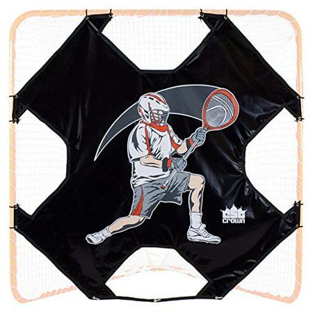 Crown Sporting Goods Heavy Duty Lacrosse Goal Target, 6' x 6' K2 Sporting Goods
