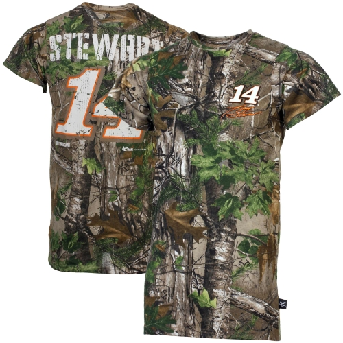 Chase Authentics Tony Stewart 2013 Xtra T-Shirt - Realtree Green Camo