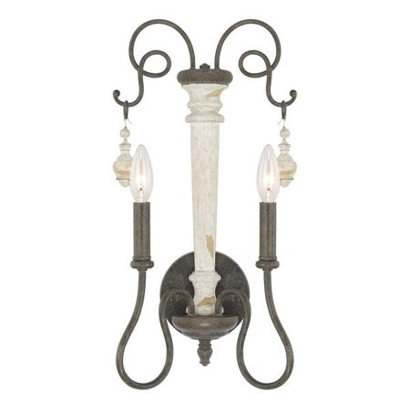 Capital Lighting Vineyard - Two Light Wall Sconce, French Country Finish