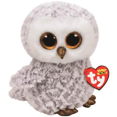 Ty Beanie Boos Medium Plush, OWLETTE THE OWL](Owl Media)