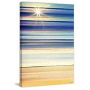 Parvez Taj Sun Lit Streaks Print On Canvas Art Print On Premium Canvas