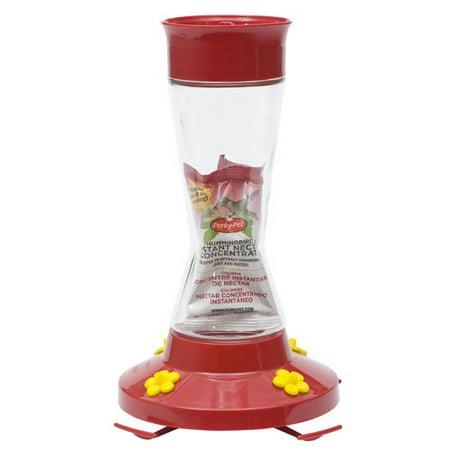 Woodstream Perky Pet Glass Hummingbird Feeder with (Woodstream Glass Feeder)