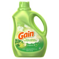 Gain Liquid Fabric Softener, Original, 90 fl oz 105 loads