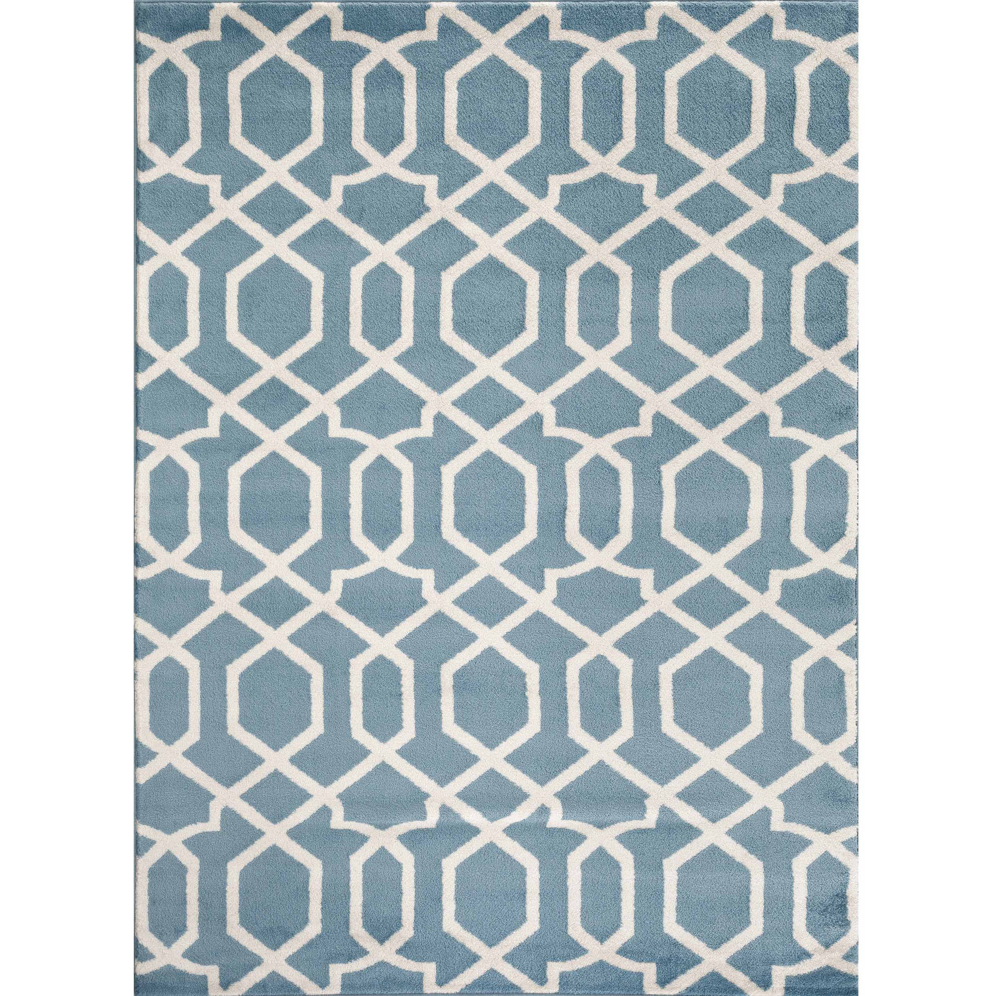 World Rug Gallery Contemporary Trellis Design Indoor Area Rug