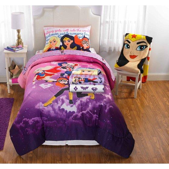 Superhero S Comic Kids Bedding Bed In A Bag Set