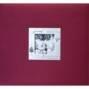 "Expressions Post Bound Album, 8"" x 8"", Family, Burgundy"