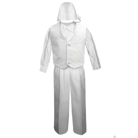 Heirloom Christening Gowns For Boys (Boy Infant Baby Toddler Christening Baptism Formal Vest Suit S M L XL 2T 3T)