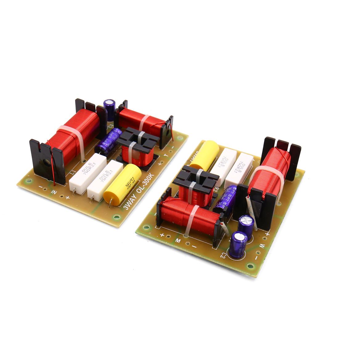 2pcs 180W 4-8ohms 3 voie audio haut-parleur filtre Aplifier diviseur fréquence - image 1 de 1