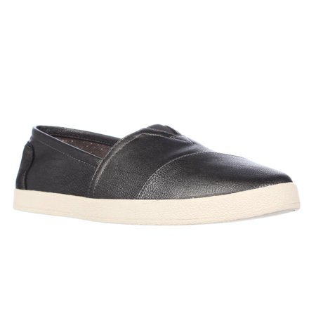 3ac4b2cdcf9 TOMS - Womens Toms Avalon Casual Slip On Sneakers - Dusty Ash - Walmart.com