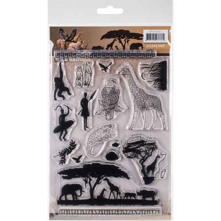 Animals Clear Stamps - Find It Amy Design Wild Animals Clear Stamps-