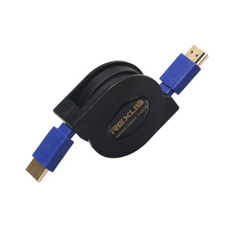 New Version 1.4 Supports 3d Copper Flat Retractable Hdmi Cable - image 9 of 10