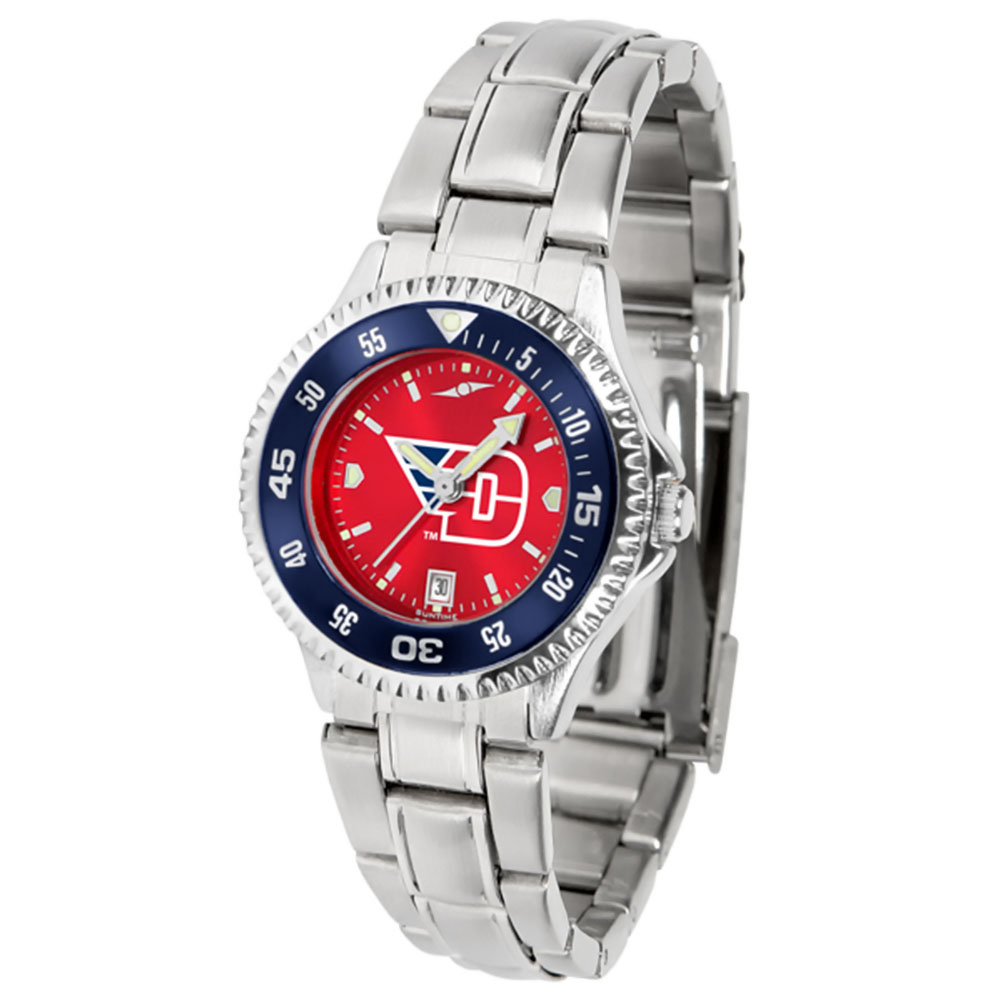 "Dayton Flyers NCAA AnoChrome ""Competitor"" Women's Watch (Color Bezel)"