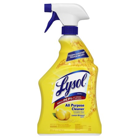 Lysol brand ii ready to use all purpose cleaner lemon for Cleaning products for kitchen