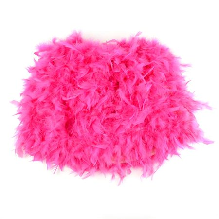 Midwest Design Imports 46073 Hot Pink Feather Adult Skirt