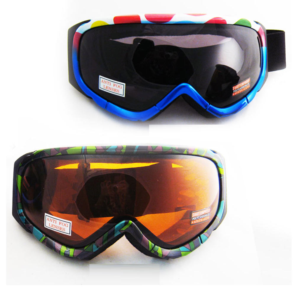 Ski Snowboard Snow Glasses Sun Goggles Sport Lens Anti Fog Elastic Strap G89 New by Asia Pacific