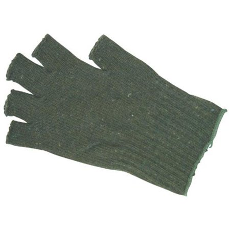 Open Fingered Wool Glove - Olive Drab Olive Drab Wool Glove