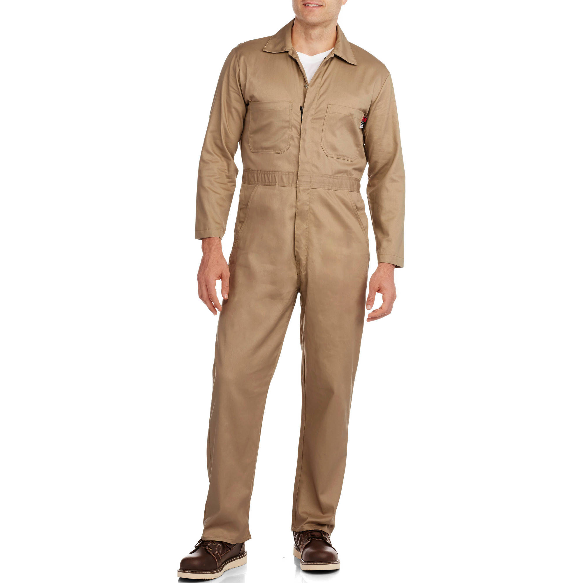 Walls FR Men's Flame Resistant Contractor Coverall, HRC Level 2 by Walls