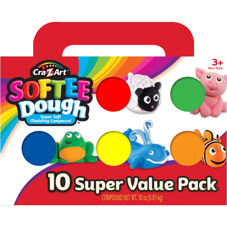 Cra-Z-Art Softee Dough, 10pk