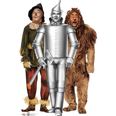 Advanced Graphics Tin Man, Cowardly Lion and Scarecrow -