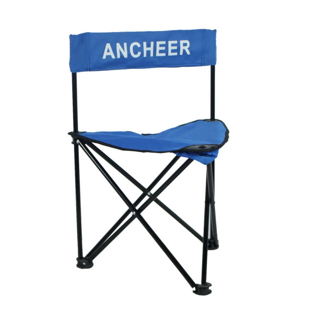 ANCHEER Outdoor Portable Folding Chair Camping Hiking Fishing Beach  Recliner Chair/ Tripod Chair With Backrest   Walmart.com