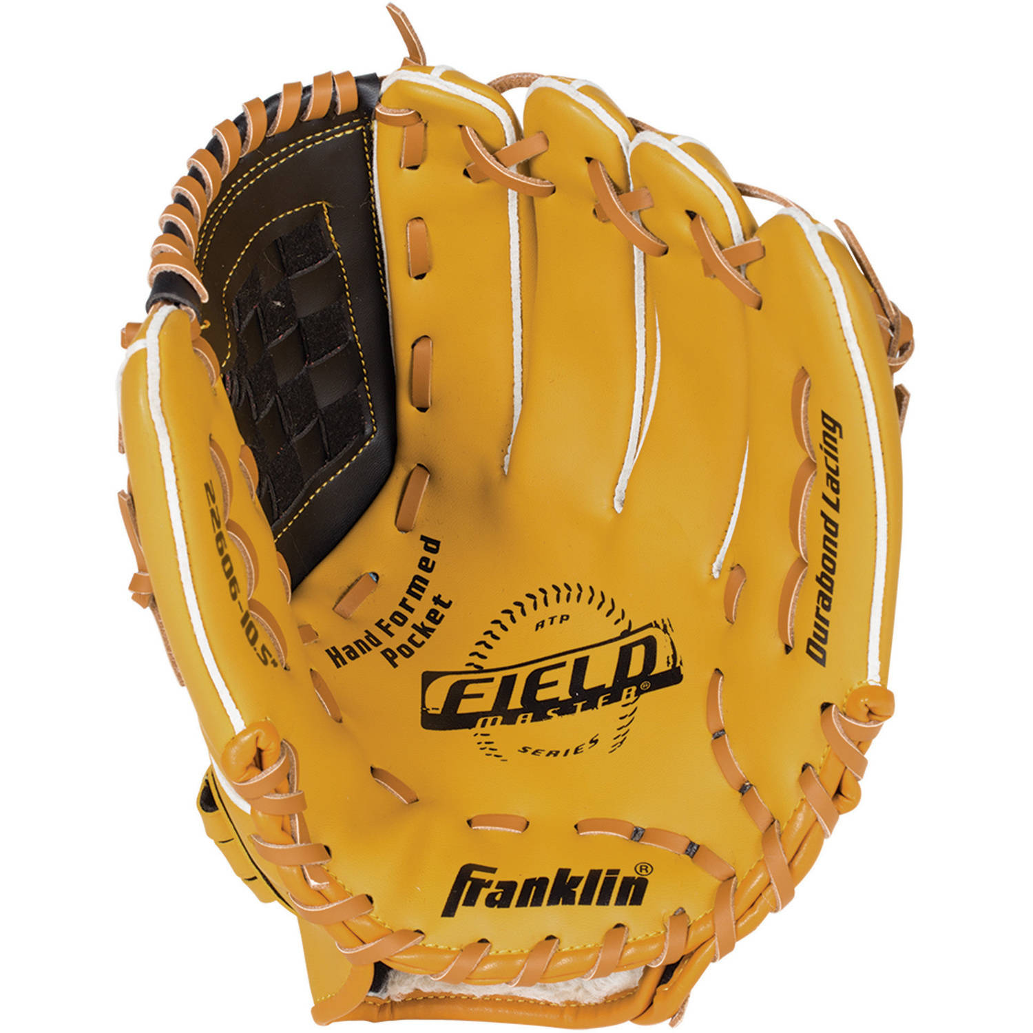 Franklin Sports Field Master Series Baseball Glove, Left-Handed Thrower
