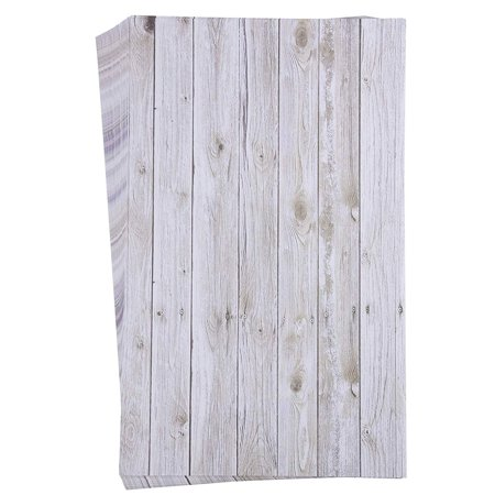 48-Sheet Stationery Paper - Rustic Wood Panel Designs, Double Sided Prints, Perfect for Printing, Copying, Crafting, Letter, Certificate, Invitations, Legal-Size, 8.5 x 14 (Best Place To Order Invitations)