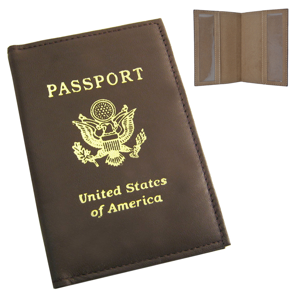 I Like Big Boats And I Cannot Lie Fashion Leather Passport Holder Cover Case Travel Wallet 6.5 In