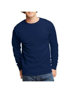 ff22bedc4e Product Image Hanes Big men's tagless long sleeve t-shirt