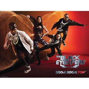 Black Eyed Peas Love Video (Black Eyed Peas - Poster Flag)