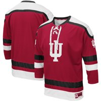 Indiana Hoosiers Colosseum Mr. Plow Hockey Jersey Sweater - Crimson