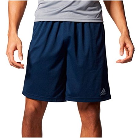 Adidas Men's Ultimate Core Short (Large, Navy/Gray)