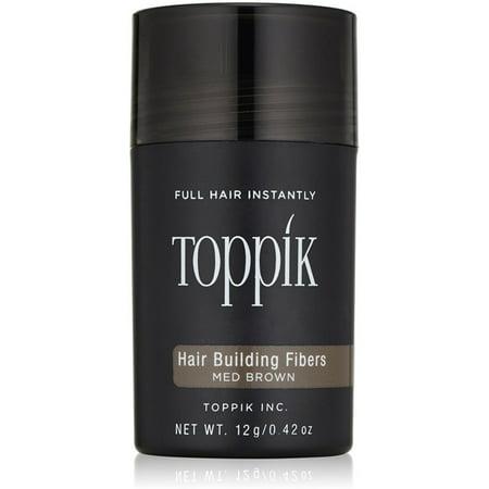 Toppik Hair Building Fibers Medium Brown 0.42oz/12g