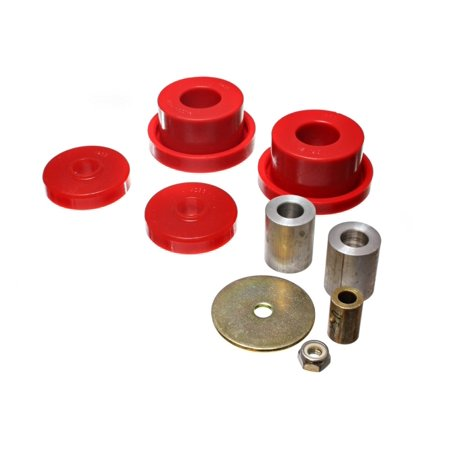 Energy Suspension 08-10 Chrysler Challenger/07-10 Charger RWD Red Rear Diff Mount Bushing Set