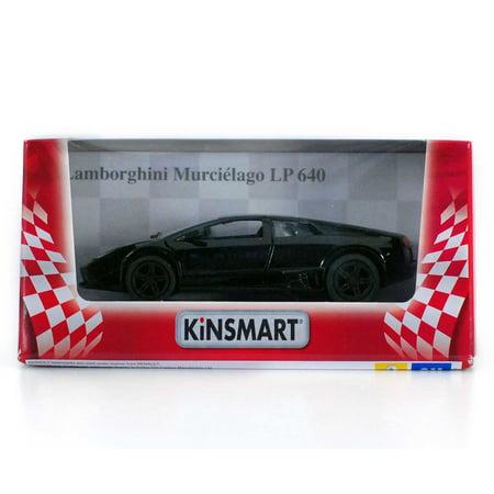 5  Die Cast  Lamborghini Murcielago Lp640  Black