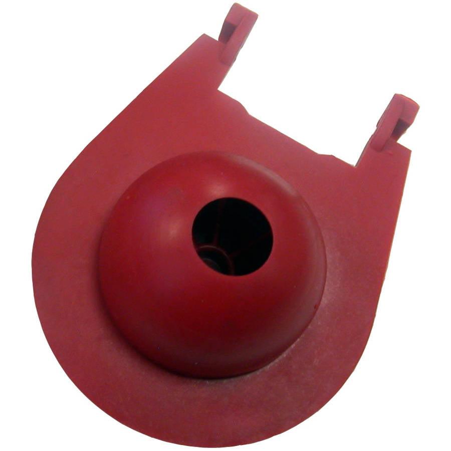 "Korky 3030BP 3"" Sealing Surface Red Rubber Eljer Titan Flapper"