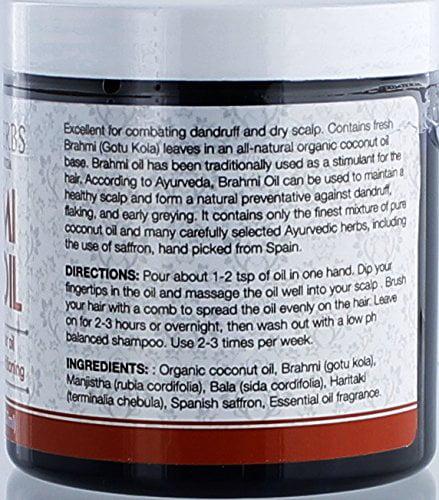 Brahmi Oil - Ayurvedic Hair Growth