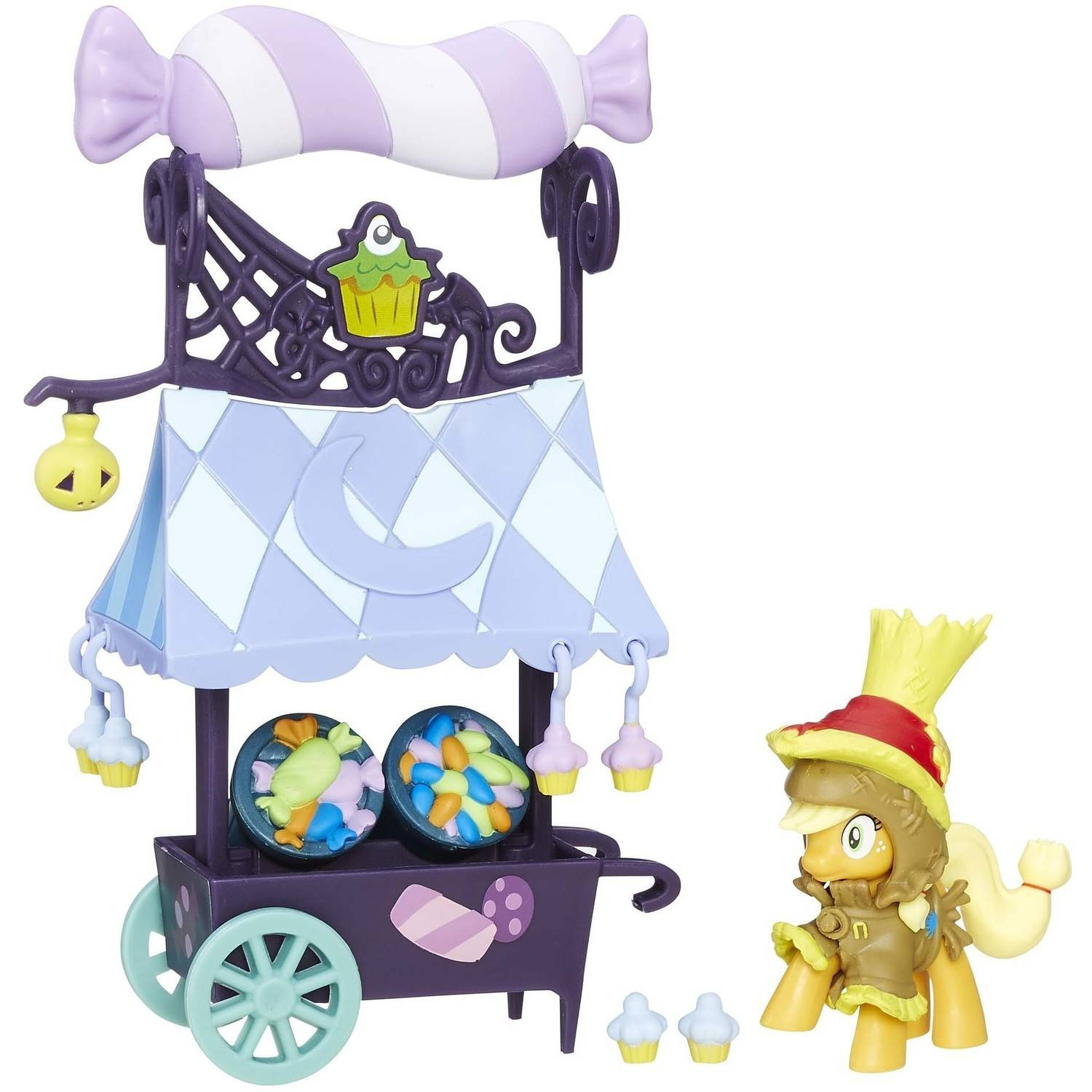 My Little Pony Friendship is Magic Collection Sweet Cart with Applejack by Hasbro