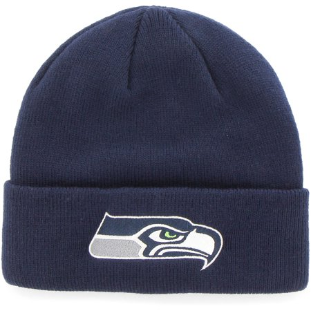NFL Seattle Seahawks Mass Cuff Knit Cap - Fan Favorite - Seattle Seahawks Gear